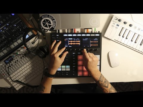 Maschine MK3 - Making another sampled hiphop beat!