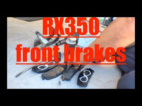 SIMPLE Front Brake Pads Rotors REPLACEMENT Lexus RX350√ Fix it Angel
