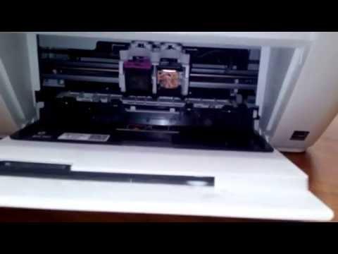 Replacing Cartridge on HP Deskjet 1510,1515,1516.. All in one Printers