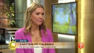 """Jenny smakar italienska rätten: """"Den vill jag äta varje dag i sommar"""" - Nyhetsmorgon (TV4)"""