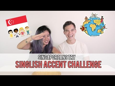 Singaporeans Try: The Singlish Accent Challenge (National Day Special) | EP 63