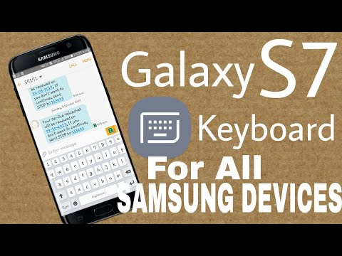 GALAXY S7 KEYBOARD Apk for any Samsung Device