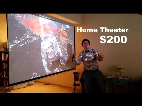 How To Set Up A Budget Home Theater For $200