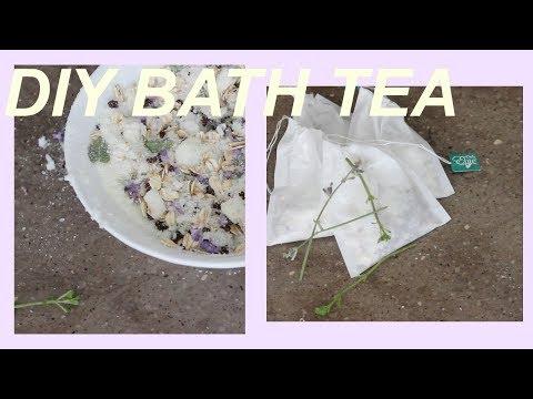 DIY Bath Tea Bags - ALL NATURAL