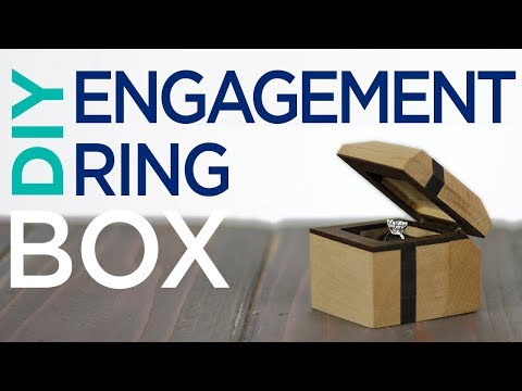 DIY Engagement Ring Box | 13 | The Cutting Bored