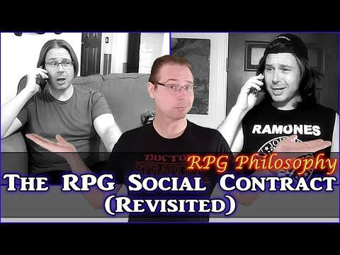 The RPG Social Contract (Revisited)