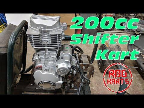 200cc Shifter Kart Build Ep. 1