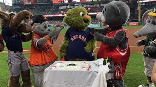 Orbit celebrates birthday with friends