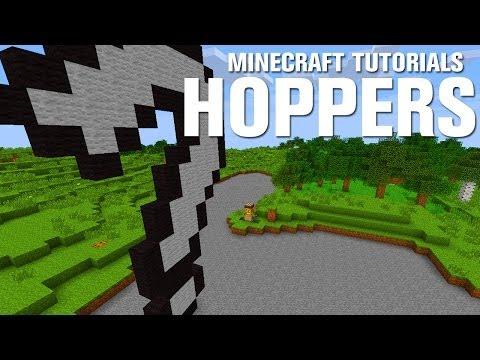 Minecraft Tutorials: Hoppers