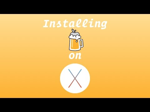 How to install Homebrew on MacOS Sierra