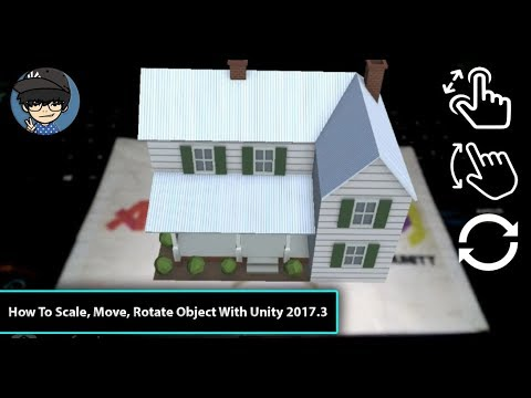 How To Scale Move Rotate Object Using Lean Touch With Unity 2017.3