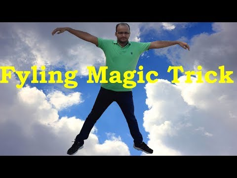 How To Fly In Sky Magic Trick Secret Revealed