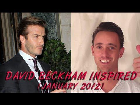 David Beckham HairStyle Tutorial  2012 - JesseMinty.com