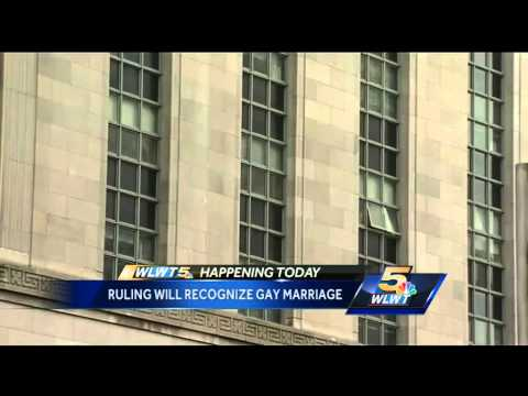 Federal judge to rule Ohio must recognize gay marriage