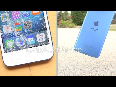 iPod Touch 6th Generation Drop Test - Thrown Off Roof!