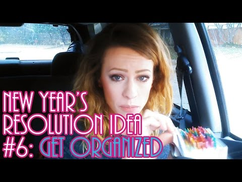 New Year's Resolution Idea #6: Get Organized!