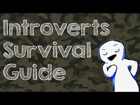 Introverts Survival guide for social events.