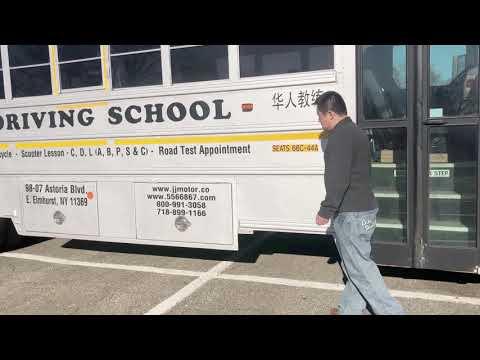 2018 NY CDL Class B, P, Bus Pre-trip Inspection (718-205-6789)