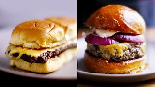 How To Cook A Thick Burger Vs. A Thin Burger