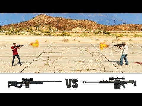 GTA V - Sniper vs Heavy Sniper