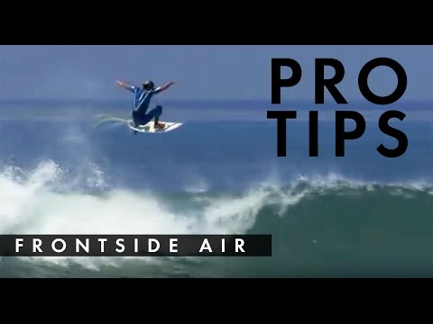 How to do a Standard Frontside Air with Cory Lopez