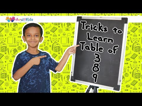 Table tricks | Easy way to learn tables