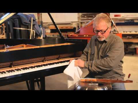 Removing Marker From a Piano Keyboard : Piano Care & Maintenance