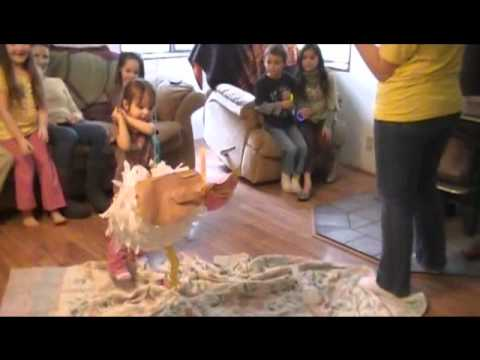The Life and Death of a Turkey Pinata