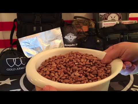 Opening A 14 Year Old Mylar Bag of Pinto Beans