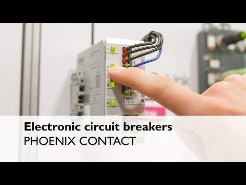 Circuit Breaker CBMC - The electronic circuit breaker - Phoenix Contact