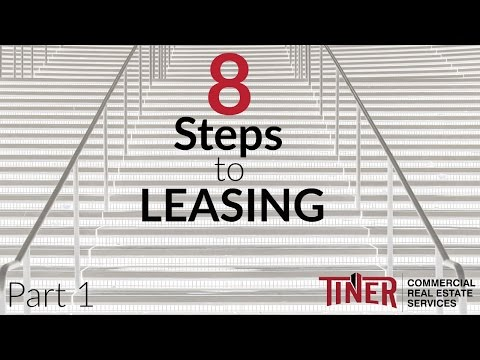 8 Steps to Leasing - Part 1 | Commercial Real Estate Advice – Tiner