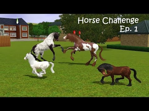 'The Fail Episode' - The Sims 3 - Horse Challenge - Episode 1