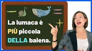Download COMPARATIVO e SUPERLATIVO italiano - Learn Italian COMPARATIVE and SUPERLATIVE adjectives 😳🤭🙃 Video