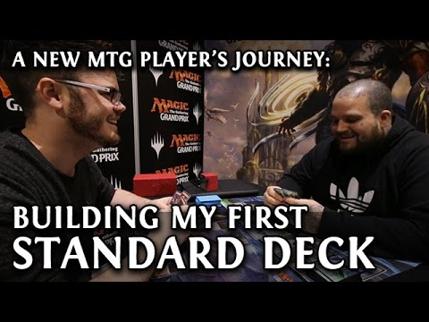 Magic the Gathering: Building My First Standard Deck - My Journey to Game Day (Sponsored)