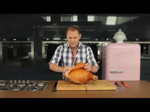 How to Carve a Christmas Ham