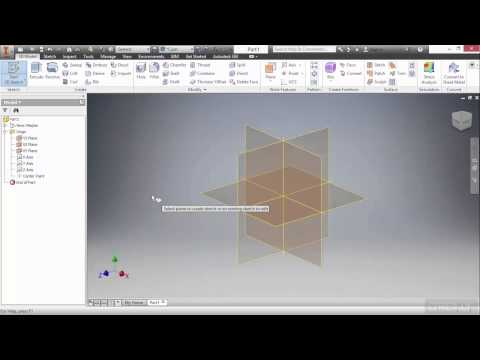 Autodesk Inventor 2016 Tutorial | Creating 2D Sketches
