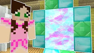 Minecraft: SECRET DIMENSION!!! - DIMENSION JUMPERS - Custom Map [2]