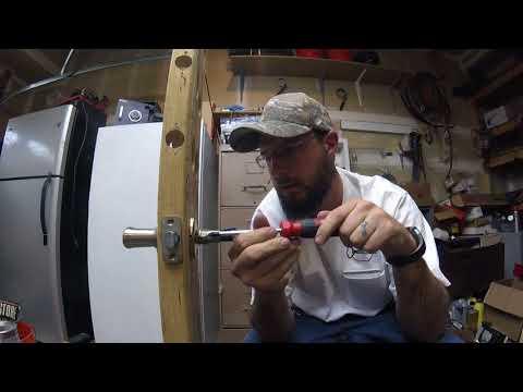 How to install Kwikset Smart key lever lock On your door