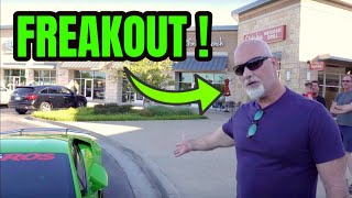 ARMY VETERAN FREAKS OUT ON WRONG LAMBORGHINI OWNER !!!!