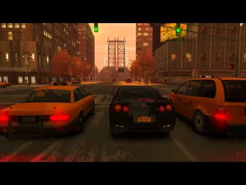 Grand Theft Auto Episodes From Liberty City [Nissan GTR35]