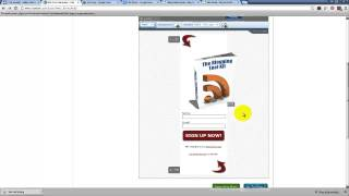Aweber Form How To Create An Email Sign Up Form For Your Website Usin