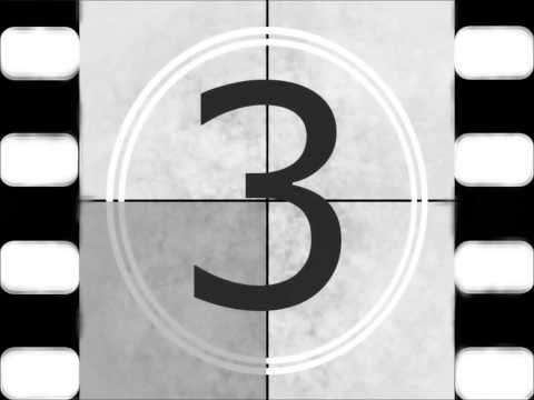 5 second countdown timer with beeps (classic) - 5 4 3 2 1 - Film
