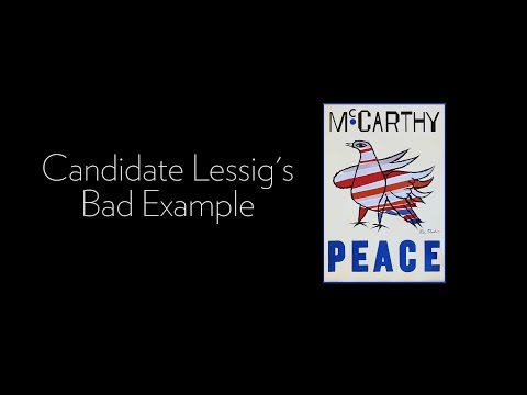 Candidate Lessig's Bad Example