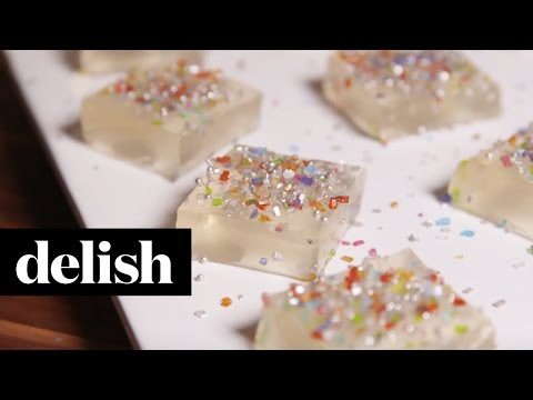 Delish Champagne Jello Shots | Delish