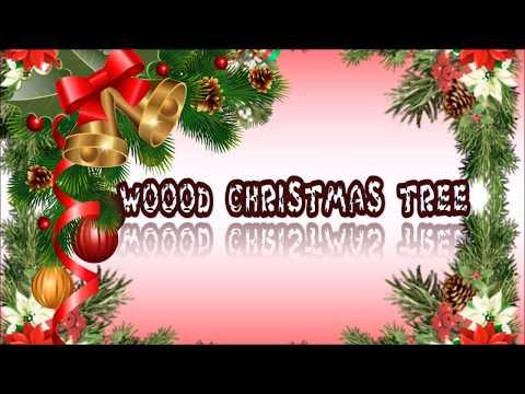 How to make a Wood Christmas Tree