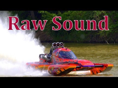 Drag-boats with Raw Sound 35mins