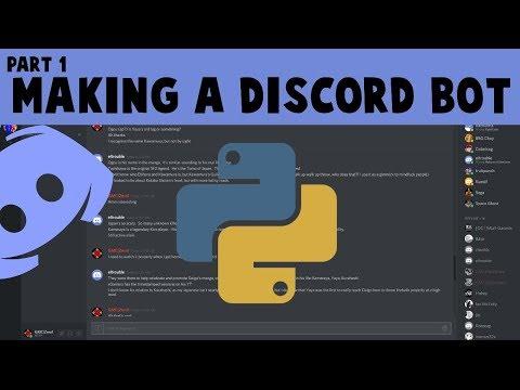 Making a Python Discord Bot | Part 1 - Setting up & connecting to Discord