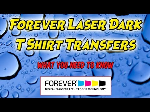Forever Laser Dark T Shirt Transfers Application What You Need To Know To Apply These Transfers