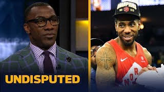 Kawhi Leonard has a 60% chance of staying with the Raptors — Shannon Sharpe   NBA   UNDISPUTED