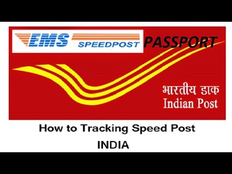 How to track Passport status / How to track speed post status